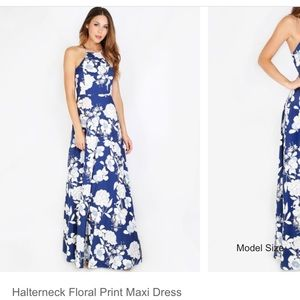 Dresses & Skirts - Blue Floral Maxi