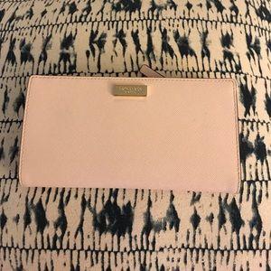 Kate Spade blush wallet :)