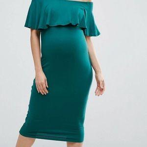Asos maternity dress EUC
