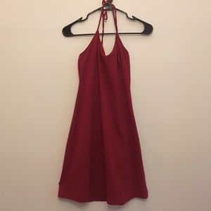 Old Navy burgundy dress
