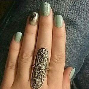 Southwestern style ring