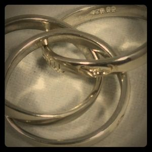 Sterling Silver Rolling Ring