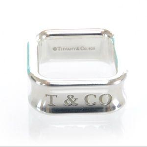 Rare Tiffany & Co square ring