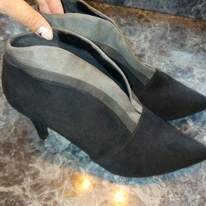 Black & Gray Booties