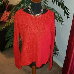 H&M Red Holiday Sweater