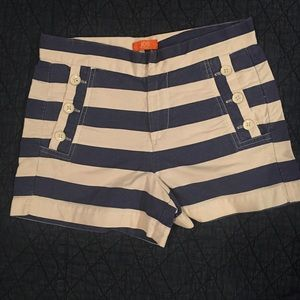 Joe Fresh high waisted nautical shorts