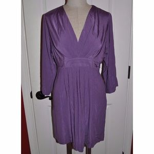 Anthropologie ALI RO Purple Jersey Kimono Dress