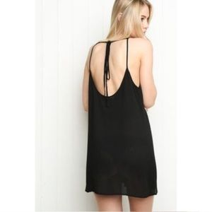 Brandy Melville Black Belle Slip Dress