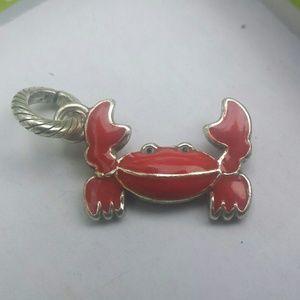 Brighton crab charm