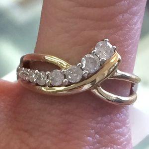 10k Gold .5ct Diamond Ring