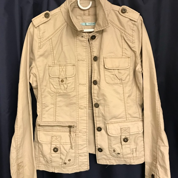 Maurices Jackets & Blazers - Tan Jacket