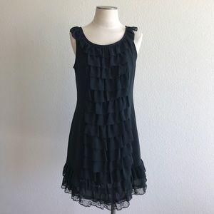 Xhilaration ruffle dress