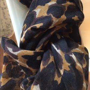 CAbi - animal print scarf.