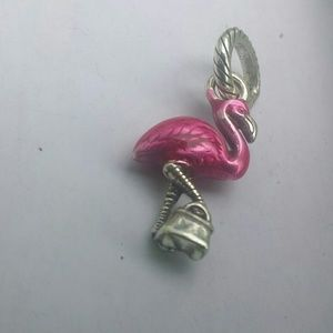 Brighton flamingo charm