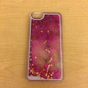 Glitter and Stars ✨ iPhone 6/7 Plus Case