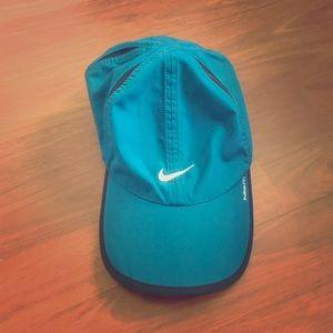 Nike teal dri fit hat