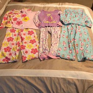 3 PJ sets-girls size 7