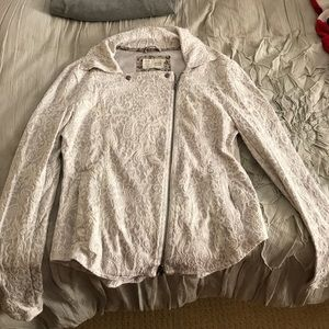 Anthropologie zipped sweatshirt