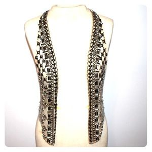 Sequined vest