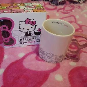 Hello kitty cafe mug