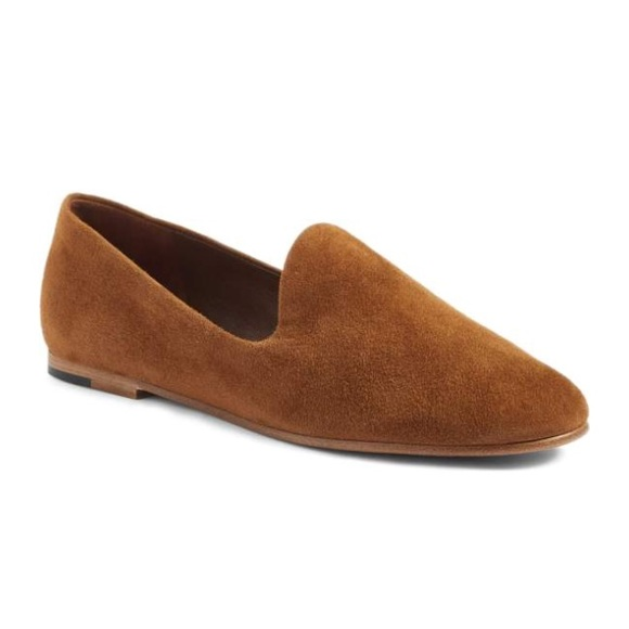 61f6428244c Vince Suede Milo Loafers Slides Roasted Nut 36.5. M 59ee24b8bcd4a7a1d50dd1f1