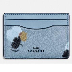 COACH Floral Card Holder