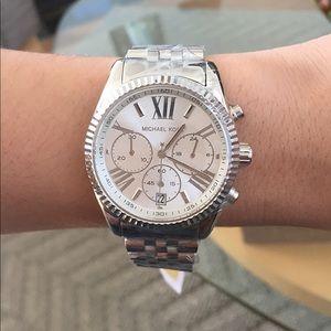 Michael Kors Silver Watch **New**