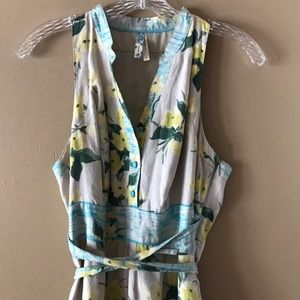 Anthropologie Maeve Tie Back Midi Dress 2
