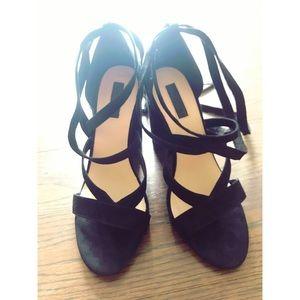Forever 21 strap heels