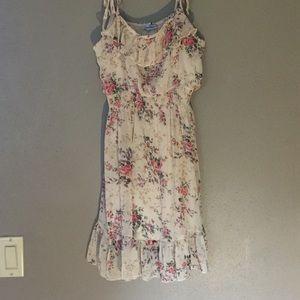 Tan short dress
