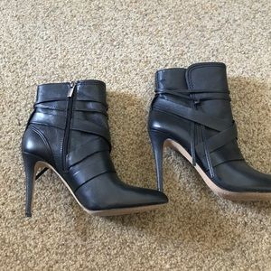 Vince Camuto Black Booties, Size 9