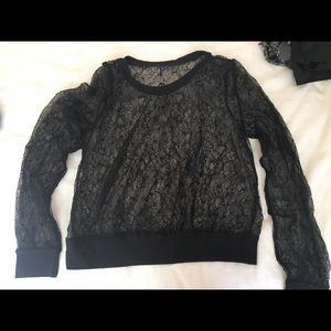 Urban outfitters lace long sleeve