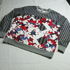 Peter Pilotto for Target Stripe/abstract Sweater