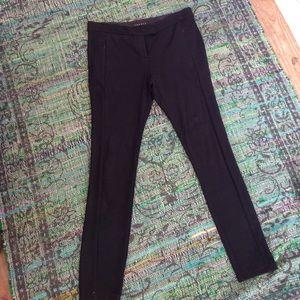 Theory black leggings like new!! 8