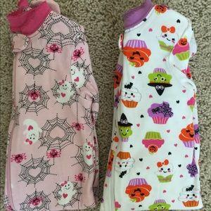 Baby Girl 2 Piece Halloween Pajamas