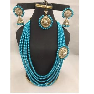 Jewelry - NWOT pearl layer Mughal  jewelry set final price!!