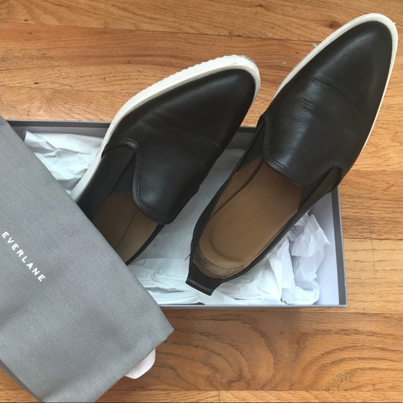 f929b921d62 Everlane Shoes - Everlane Black Leather Street Shoe
