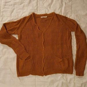 The perfect pumpkin spice cardigan!