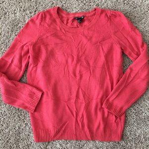 H&M basic sweater rustic orange