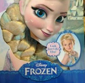 Disney Costumes - Disney Frozen Elsa Wig - Children fd4a506bfb89
