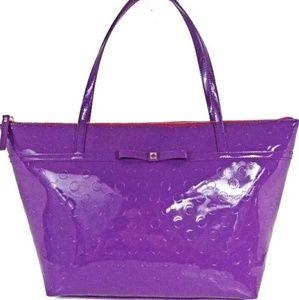 Kate Spade brand new purple sophie camellia street