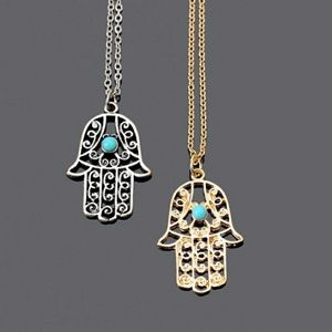 Jewelry - 5 for $25 Hamsa Hand Pendant Necklace