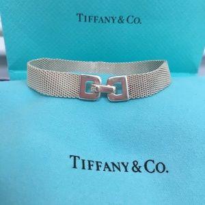 🔴Authentic Tiffany & Co Somerset Mesh  Bracelet