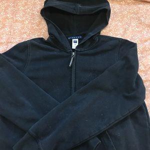 Gap Stretch Sweatshirt Black Size Small
