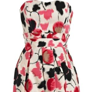 ALICE by Temperley Dresses - Alice by Temperley floral print strapless dress 6
