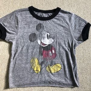 Urban Outfitters Mickey Mouse crop top