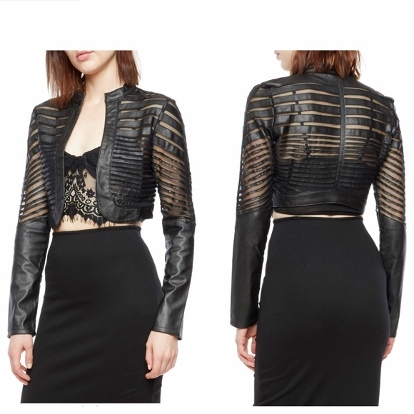 Black bolero jacket size 24