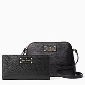 Kate Spade Bay Street Bundle Bag & Wallet NWT