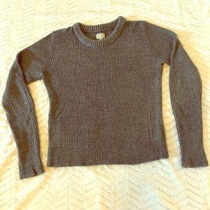 Lightweight Charcoal Sweater