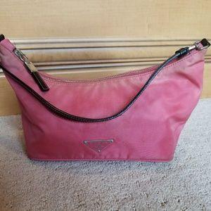 Prada hot pink handbag